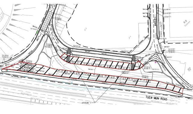 道路交通平面图手绘