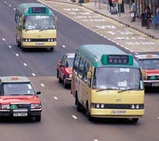 Using minibuses or taxis