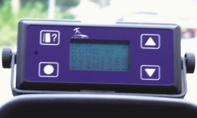 Typical in-vehicle transponder (vehicle position device)